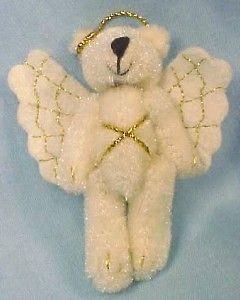 Adorable BOYDS BEARS ANGEL CHRISTMAS ORNAMENT or PIN