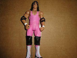 Bret Hart Mattel Basic WWE wrestling figure Royal Rumble Heritage