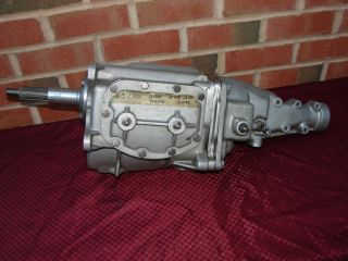 63 CHEVROLET BORG WARNER T 10 T10 4 SPEED TRANSMISSION REBUILT