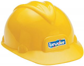 BRUDER YELLOW KIDS TOY CONSTRUCTION HARD HAT BRAND NEW 10200