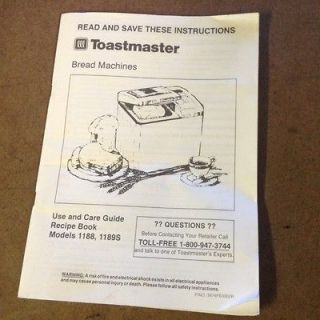 oster bread machine manual 4812
