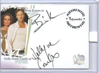 DESTINY DUAL AUTO A 2 HOLLY MARRIE COMBS PIPER & BRIAN KRAUSE LEO A2