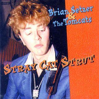BRIAN SETZER and The Tomcats Stray Cat Strut CD Rare Early Tracks