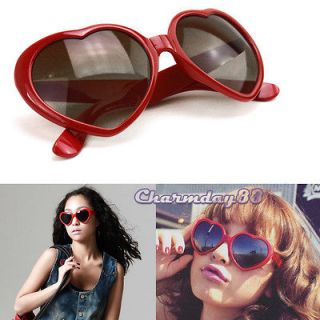 Heart Lovely Shape Party Glasses Funny Retro Unisex Sunglasses Cute