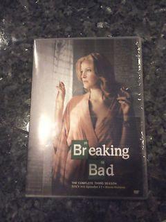 BREAKING BAD SEASON 3 DISCS 1 and 2 DVDs