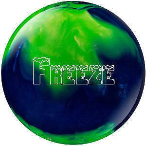 10lb Columbia 300 Freeze Blue/Green Bowling Ball