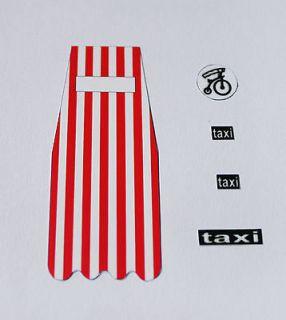 Dinky 106 Prisoner Mini Moke Sticker Decals   Full Set