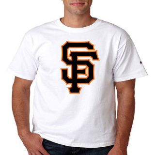 San Francisco Giants SF Logo Champion Shirt Classic Throwback New S