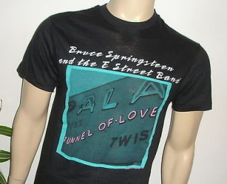 RaRe *1988 BRUCE SPRINGSTEEN* vintage rock concert tour 80s t shirt (L
