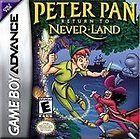 Peter Pan in Disneys Return to Never Land (Nintendo Game Boy Advance