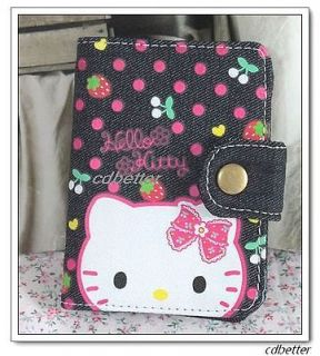 Like Material Hello Kitty ID Card Holders Cases Business Card Slots