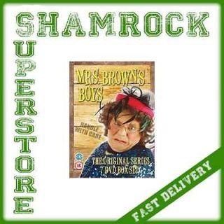 BOYS COMPLETE 7 SERIES DVD BOX SET COMEDY IRISH BRENDAN OCARROLL