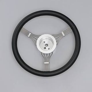 Lecarra Newstalgic Banjo Steering Wheel 15 Dia 3 Spoke 1.25 Dish