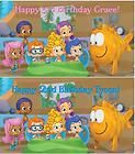 Custom Vinyl Bubble Guppies Birthday Party Banner Decorations with