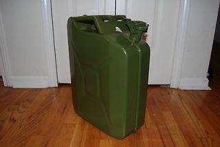 BRAND NEW MILITARY STYLE JERRY CAN 5 Gallon NATO Fuel Tank