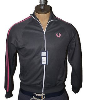 AUTH Fred Perry Mens Twin Tape Track Jacket 2XL