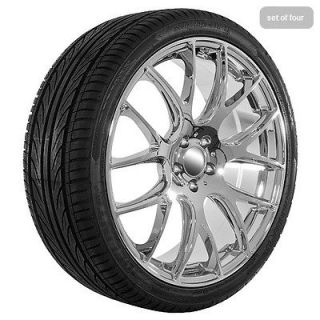 20 Jaguar S Type XK XJR XJ8 XF Chrome Wheels Rims and Tires