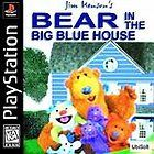 Jim Hensons Bear in the Big Blue House Sony PlayStation 1, 2002