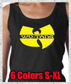 Hip Hop Rap RZA Method Man ODB New York NY Ladies Tank Top Tee Shirt