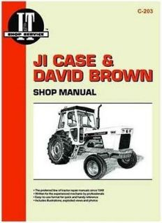 SMC203 JI Case IH David Brown I&T Shop Service Manual 770 880 970 1070