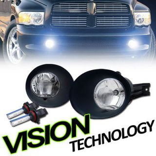 02 09 Ram Pickup/Truck Clear Lens Driving/Bumper Fog Lights w/ Cover