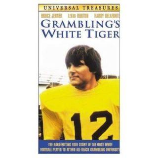 Gramblings White Tiger ~ Bruce Jenner   VHS, New