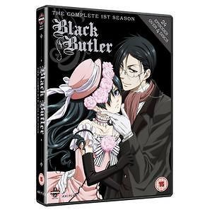 Black Butler Complete Series Box Set Aniamation DVD Movie PAL Region 2