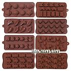 Chocolate Muffin Silicone Mould Cake Jelly Candy Baking DIY Soap