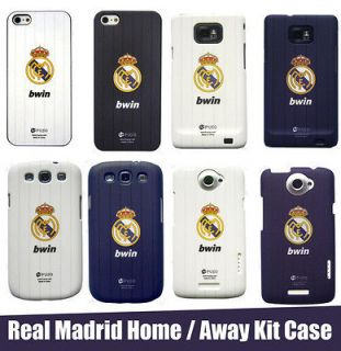 Real Madrid 2013 Home/Away Kit Case for iPhone 4S/5, HTC One X, Galaxy