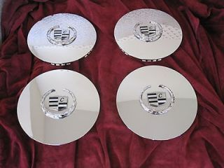 Cadillac Escalade chrome wheel center caps hubcaps EXT ESV 4575 set