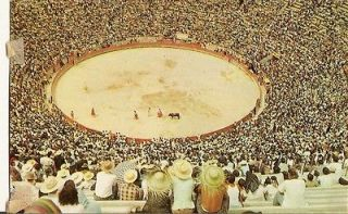Newly listed Vintage Postcard Bullfight Corrida de Toros Plaza Mexico