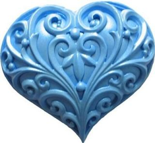 Heart silicone mold NEW fondant gum paste cake decorating supplies