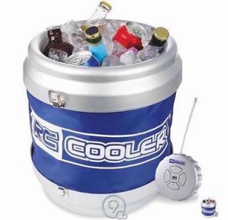 RC Cooler Remote Controlled Rolling Can Drink Cooler Chest 12 Cans