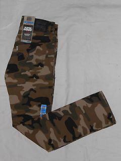 NWT Boys Levis 510 Sz14 Regular (27x28.5) Camo Denim Jean Pants