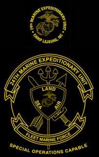 Corps 24th MEU Marine Expeditionary Unit Camp Lejeune, NC USMC shirt