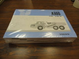 Volvo A30D Off Road Truck Dump Parts Catalog Manual
