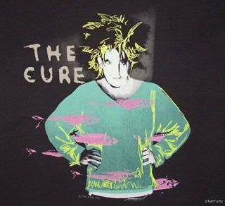 THE CURE Vintage Concert SHIRT 80s TOUR T RARE ORIGINAL 1986 Beach