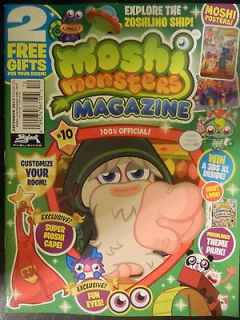 MOSHI MONSTERS MAGAZINE ISSUE 1 1ST ISSUE *BRAND NEW*