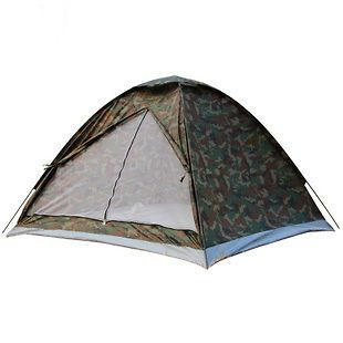 Camouflage outdoor Camping Tent for 2 Persons Rain Forest Camo Tent
