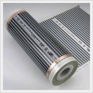 Carbon Warm Floor Heating System for Any Floor 10 sq ft. All Sizes