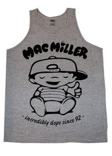 MAC MILLER BEST DAY TANK TOP   t shirt crewneck hoodie wiz khalifa