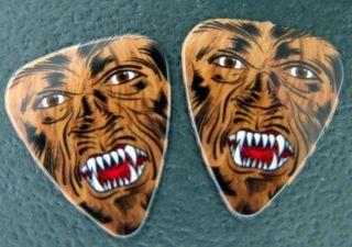 NEW Guitar Picks Monster Werewolf Wolf Man .80mm