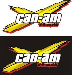 CAN AM DECALS STICKERS LYNX SEA BRP SKI DOO ROTAX ATV SPYDER COMMANDER