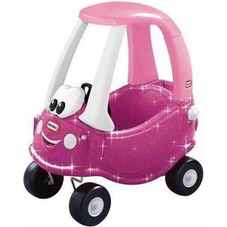 Princess Cozy Coup Sparkle Kids Happy Face Classic Push Car NEW NIB