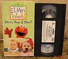 Sesame Street Elmos World Babies, Dogs & More Vhs Video MINT LN