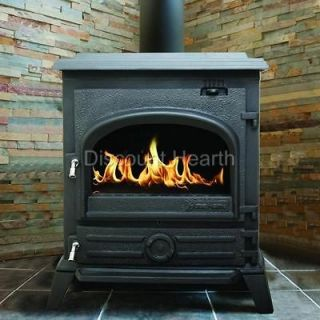 BTU 73% Eff Wood Burning Wood Stove Woodstove Cast Iron EPA Certified