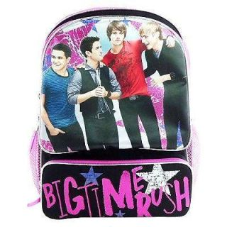 Disney Big Time Rush Boy Band Kendall James Carlos Logan 16 Backpack