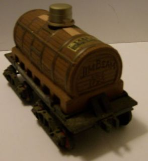 Jim Beam Train Tank Car Decanter by Regal China 1983