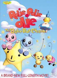 Newly listed Rolie Polie Olie Baby Bot Chase DVD