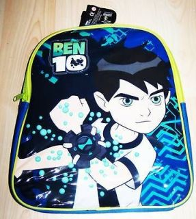 Cartoon Network Ben 10 Back Pack Ben10 Ben Ten